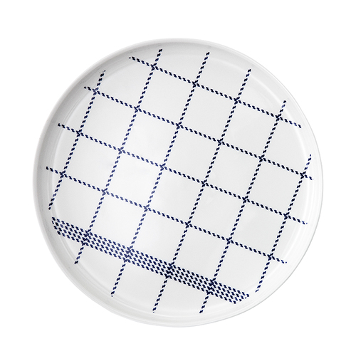 Mormor Blue Plate Large (361002)