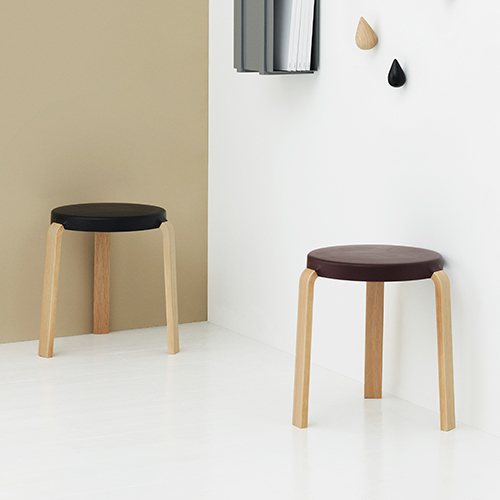 Tap Stool Oak 3 colors