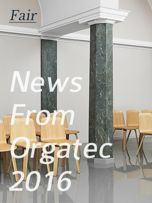 Hallo aus Köln! Today, we open our stand at the Orgatec furniture fair in Cologne with new designs....