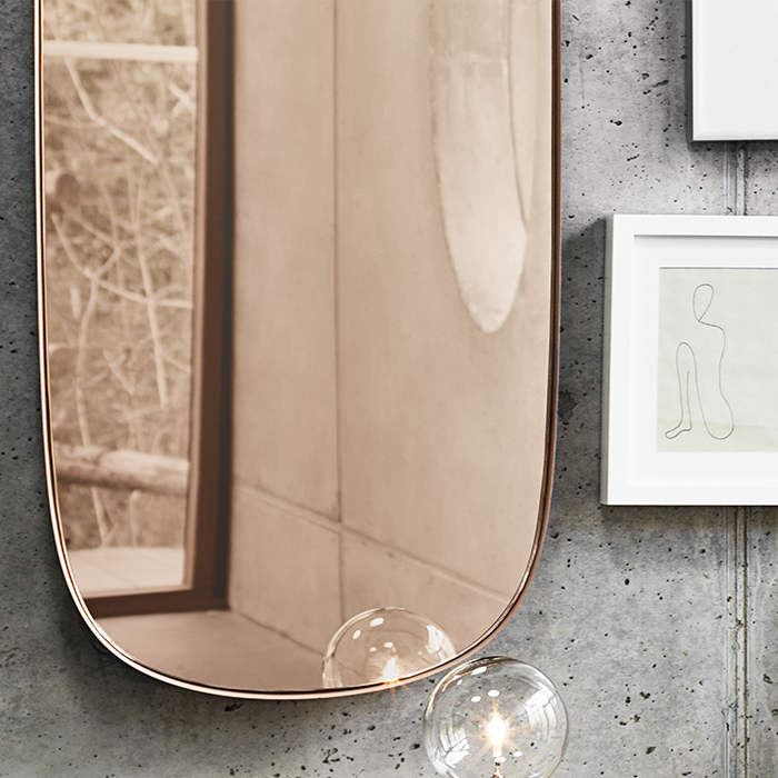 Framed Mirror, Large