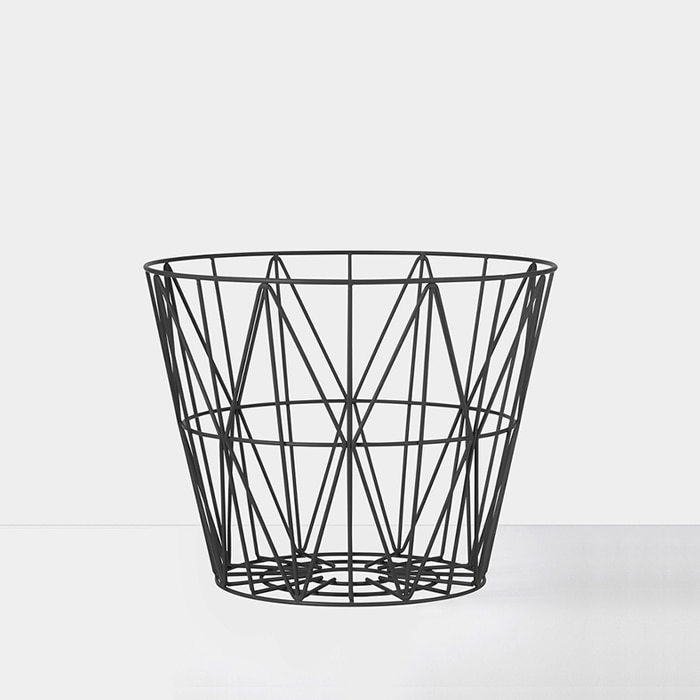 Wire Basket , Black M