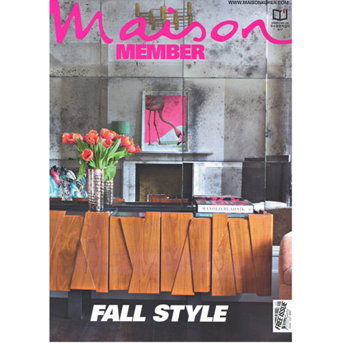 Press Rosy color for fall style @Maison
