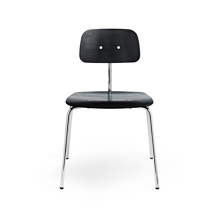 Kevi Chair 2060 , Chrome / Black