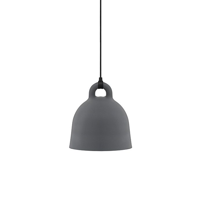 Bell Lamp , Medium grey