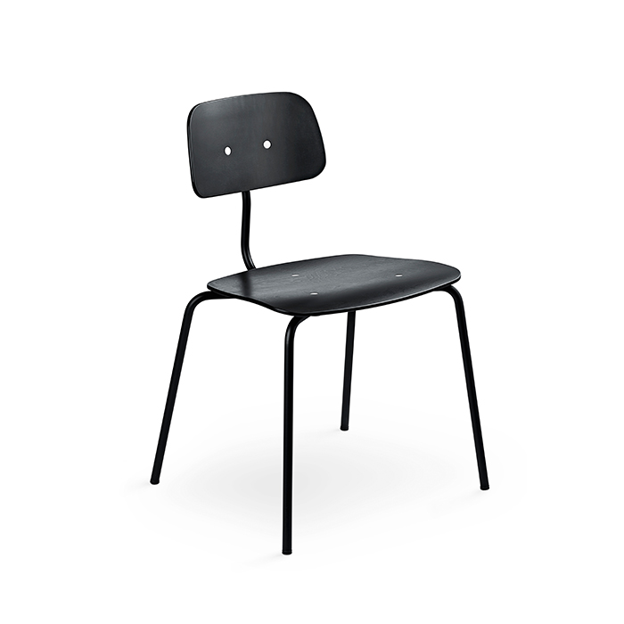 Kevi Chair 2060 , Black / Black