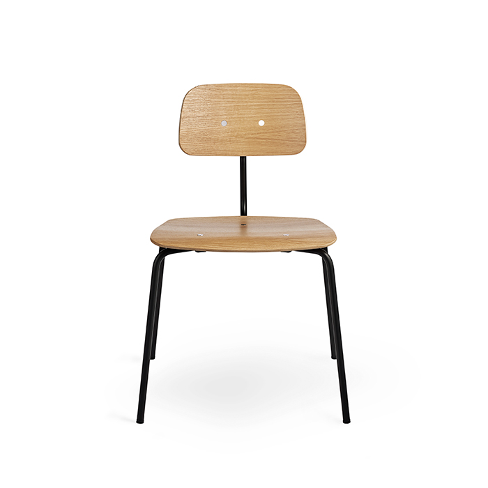 Kevi Chair 2060 , Black / Oak