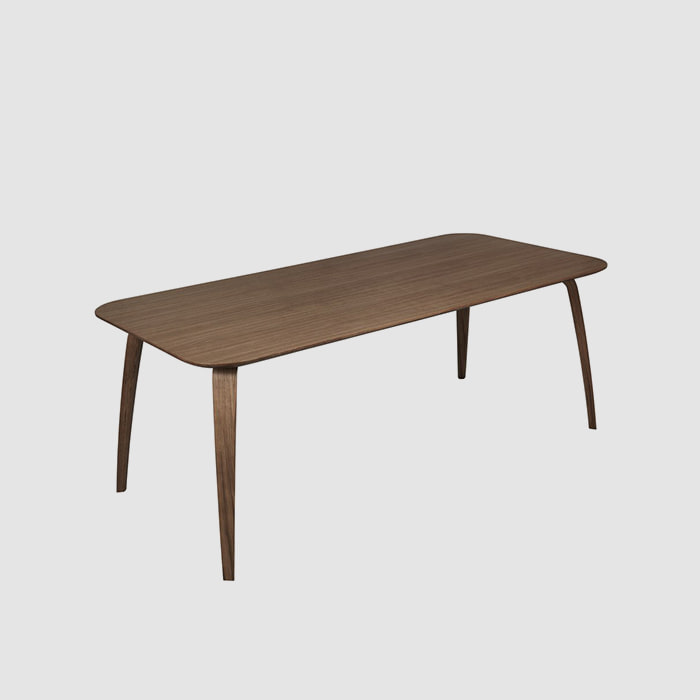 GUBI Dining Table Rect  Walnut 200 *100 주문 후 4개월 소요