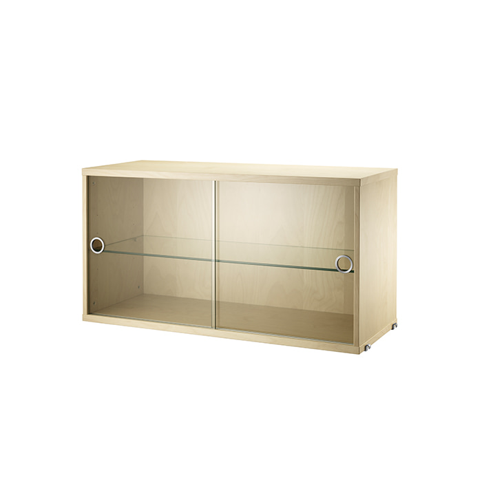 *Display Cabinet 78*30  Birch VS7830-02-1