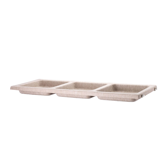 Bowl Shelf Felt 78*30  Beige FBS7830-73-1