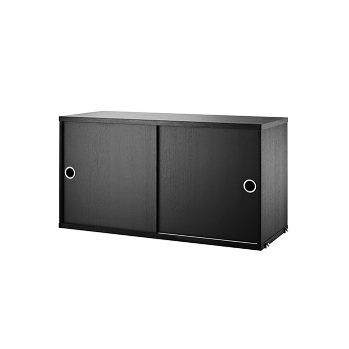 Cabinet 78*30  Black Stained Ash CD7830-03-1