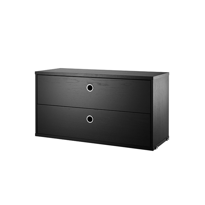 Chest 78*30  Black Stained Ash LH7830-03-1