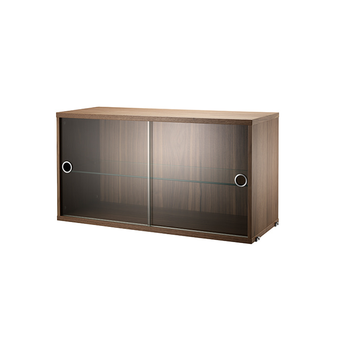 Display Cabinet 78*30  Walnut VS7830-04-1