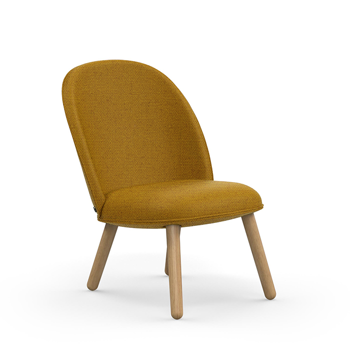 Ace Lounge Chair Oak, MLF17